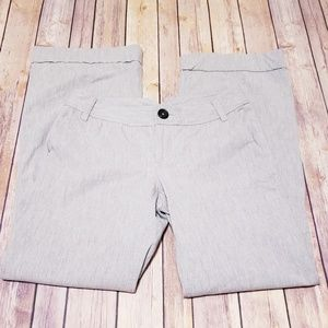 Banana republic gray Martin dress casual pants